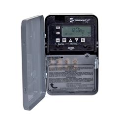 Intermatic Electronic Time Switch 120-277V 30A 7 Day SPST NEMA1