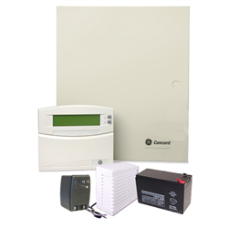 GE Concord 4 Security System in Enclosure with ATP1000 Keypad