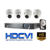 Eyeonet HDCVI Security Camera Kit, 4 Channel Recorder, 4 Domes, 1080p*