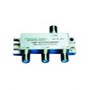 Channel Vision 3-way splitter/combiner, 1GHz, DC/IR passing