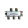 Channel Vision 4-way splitter/combiner, 1GHz, DC/IR passing