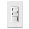 Leviton Decora Slide Dimmer For LED, CFL, Incandescent 600W White