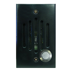 Channel Vision Door Station with Colour Camera Flush Black Finish for CAT5