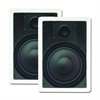 Channel Vision Rectangular In Wall Speakers 8 Inch Pair