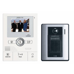 Aiphone PTZ HandsFree Color Video Intercom Set With Memory