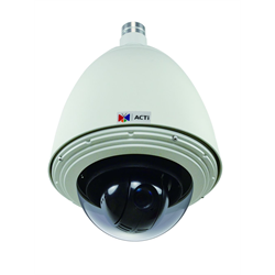 Acti Network Outdoor PTZ ,2MP,Advanced WDR,SLLS,18x Zoom,4.7-84.6mm,HighPoE