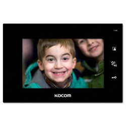 """Kocom 7"""" LCD Video Monitor Indoor Station (Black)"""