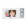 Kocom 2 Wire Video Door Intercom Kit With 7 Inch Display (White)