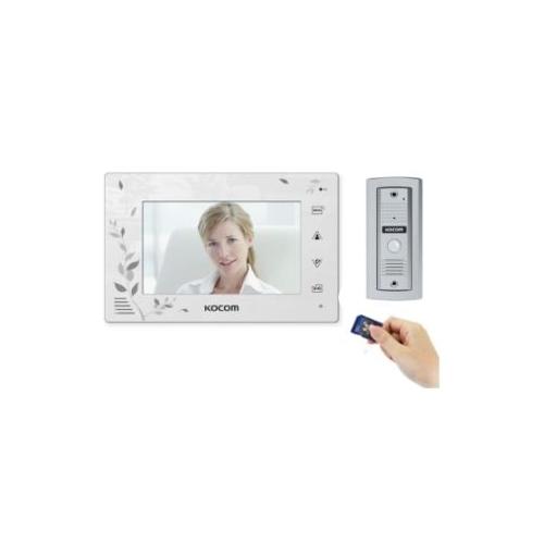 Kcv D374sd Mc20w Kocom Video Intercom With Sd Recorder