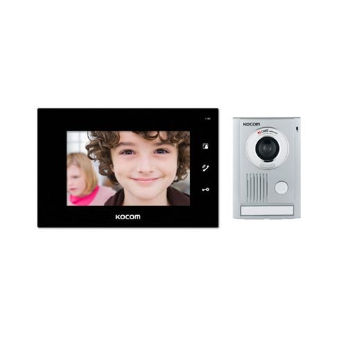 Kcv Dw374 Kcmc30 Kocom Video Door Intercom Surface Mount