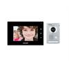 Kocom Video Door Intercom Surface Mount Door Station 7 Inch Display - Black