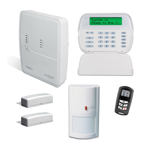 kit4952 dsc alexor pc9155 distributed wireless alarm system package. Black Bedroom Furniture Sets. Home Design Ideas