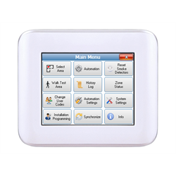 Elk Navigator 3.5 Inch LCD Touch Screen Keypad White