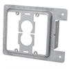 Caddy 2 Gang Low Voltage Mounting Plate