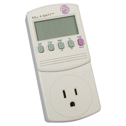 P3 Kill A Watt Plug In Voltage Tester and Meter