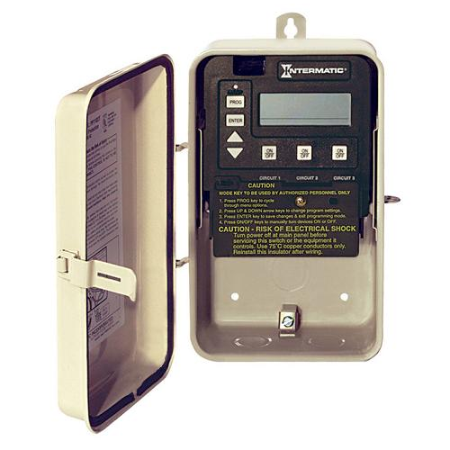 Pe153p Intermatic P1353me Digital Pool Timer With Heater