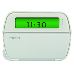 DSC Picture Icon 64 Zone LCD Keypad with Wireless Receiver English