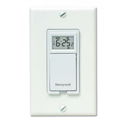 Honeywell Econoswitch Weekly/Daily Programmable Wall Switch