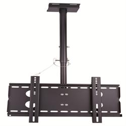 Prime Mounts LCD / LED Ceiling Mount 27-30 Inch Up To 45 Kg Tilt Swivel Black