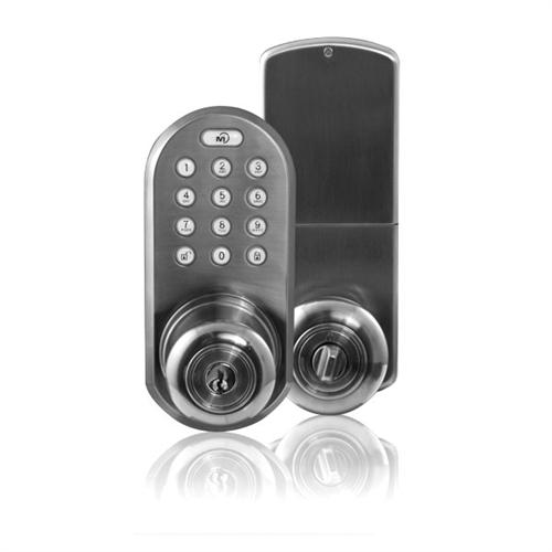 Qkk 01sn Morning Industry 3 In 1 Keyless Doorknob With