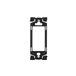 Leviton Renu Adapter Ring For Decora Onyx Black