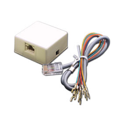 Elk RJ31X Telephone Connecting Box and Cable Set