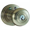 MiLocks RF Remote Controlled Door Knob Satin Nickel