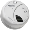 BRK 120V Wired Photoelectric Smoke and Carbon Monoxide Detector, Battery Backup