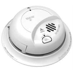 BRK Smoke / Carbon Monoxide Detector 120V with Battery Backup (replaces COS2010)