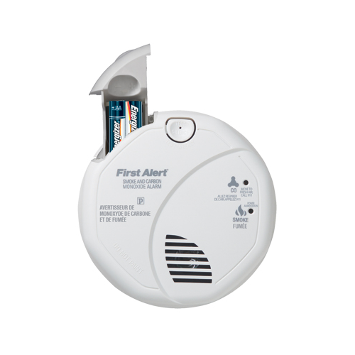 first alert battery powered combination smoke carbon monoxide alarm