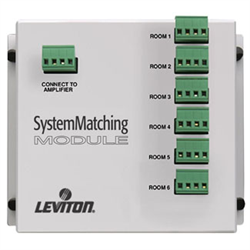 Leviton 6 Zone System Matching Module with Surge