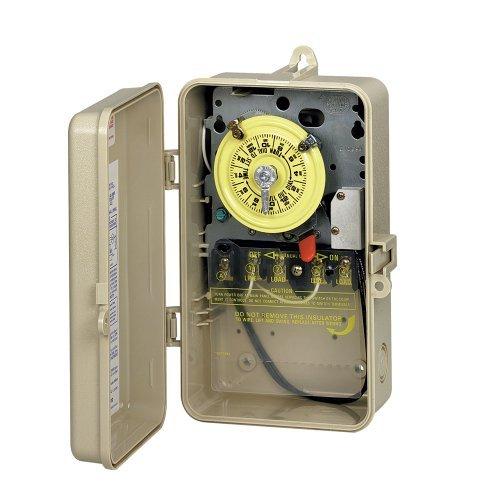 T104p201 Intermatic Indoor Outdoor Mechanical Timer 208