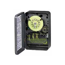 Intermatic Mechanical Time Switch DPST 24 Hour with Skipper and Carryover