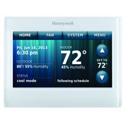 Honeywell Colour Touch Screen WIFI Thermostat