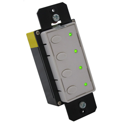 Simply Automated UPB 4 Button Wall Transmitter With Status LEDs
