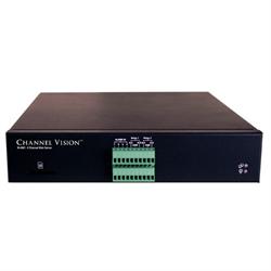 Channel Vision 4 Channel Web Server IP Video Encoder H.264