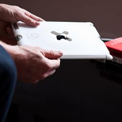 Wallee iPad3 / iPad4 (The New iPad) White Case