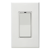 PCS PulseWorx Wall Switch/Dimmer 600W 5A White