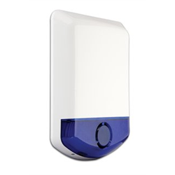 DSC Wireless Outdoor Siren with Blue Strobe for Alexor