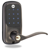 Yale Z-Wave Touch Screen Lever Oil Rubbed Bronze