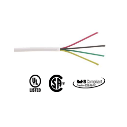 Provo Station Wire / ZWire / Alarm Cable 4 Conductor FT4 22AWG 150M