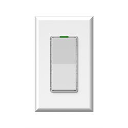 Simply Automated Face Plate Single Rocker White