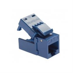 Platinum Tools EZ-SnapJack Cat6, Blue