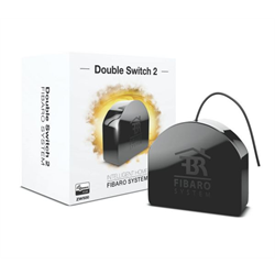 Fibaro Double Switch 2 Zwave Micro Module with Energy Monitoring