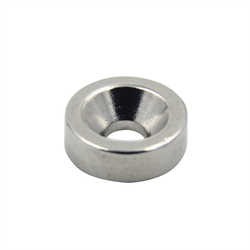 Flair Rare Earth Donut Magnet 0.400 x 1/8 Inch Thich With Screw Hole