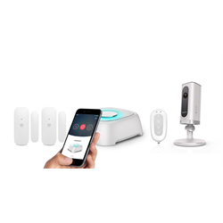 Smanos W020i WIFI DIY Wireless Alarm System Kit with IP Camera