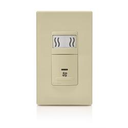 Leviton Humidity Sensing Fan Control Switch, Ivory