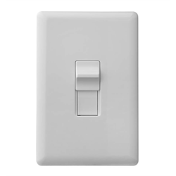Ecolink ZWave Plus Motorized No Wire Single Gang Toggle Light Switch