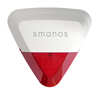 Smanos Outdoor Siren With Strobe