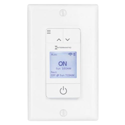 Intermatic Ascend Smart WiFi 7 Day Programmable In Wall Astro Timer